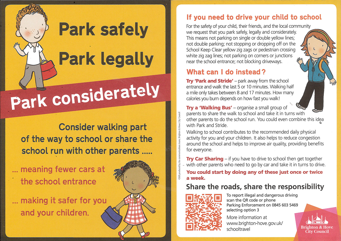 Park Safely Leaflet